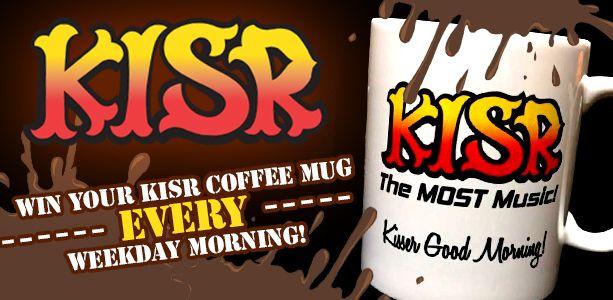 Win your KISR coffee mug!