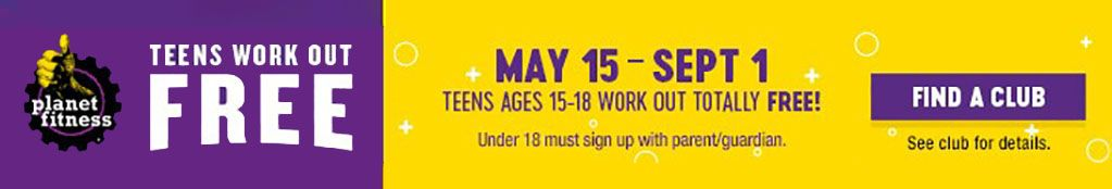 Planet Fitness - Teens Workout FREE